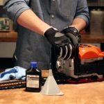 Using the right oil for your chainsaw