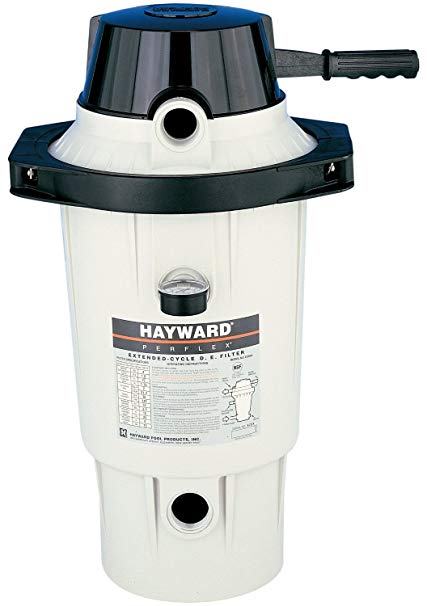 Hayward Perflex Extended-Cycle Above Ground/In Ground D.E Pool Filter