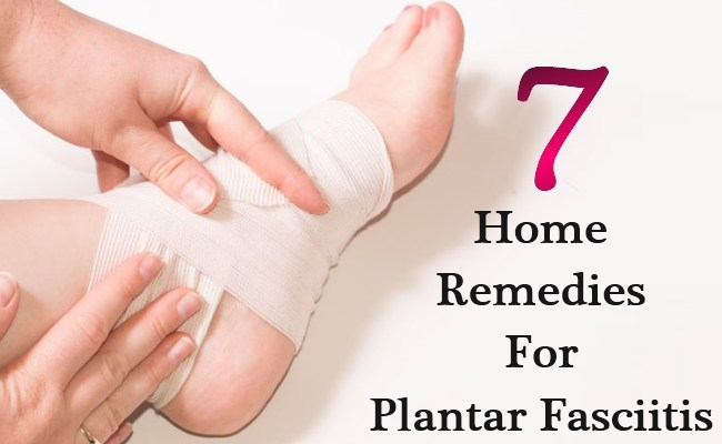 7 Best Home Remedies For Plantar Fasciitis – Heel Pain